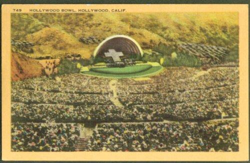 Hollywood Bowl Hollywood CA postcard ()