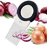 ORBLUE All-In-One Onion Holder, Odor Remover & Chopper