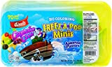 Popsicle Freeze-A-Pop Minis Icicle Icee - Assorted Flavors, 1 Oz (Pack of 70, Total of 70 Oz)