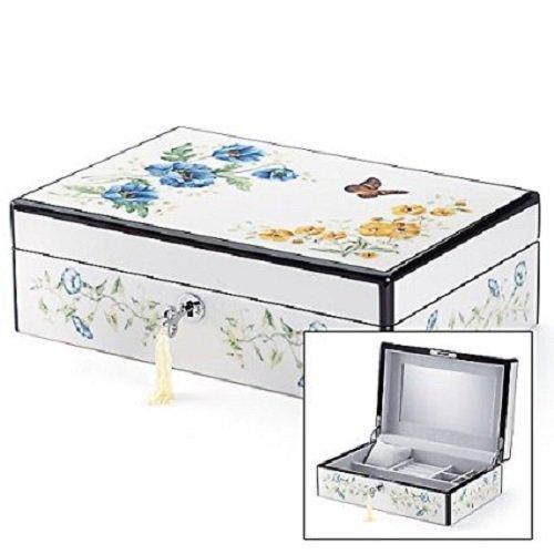 Lenox Butterfly Meadow Jewelry Box, 10 7/8'' x 7 1/4''