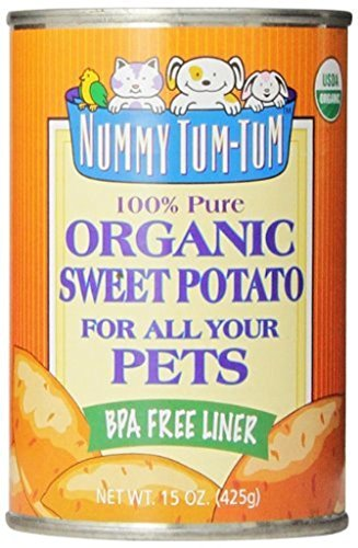 Nummy Tum Tum Pure Sweet Potato for Pets, 15 Ounce (Pack of (Organic Sweet Potato)