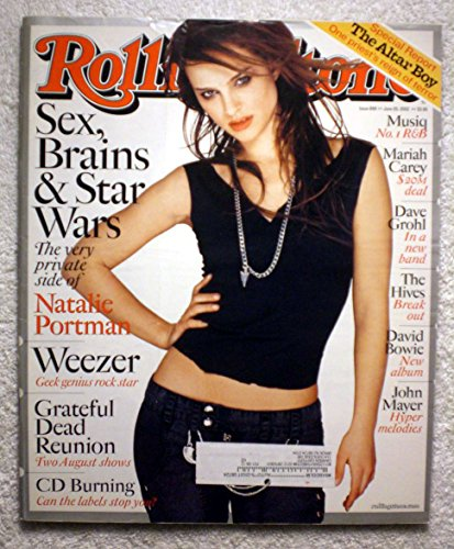 Sex, Brains & Star Wars - The Very Private Side of Natalie Portman - Rolling Stone Magazine - #898 - June 20, 2002 - Weezer: Geek Genius Rock Star
