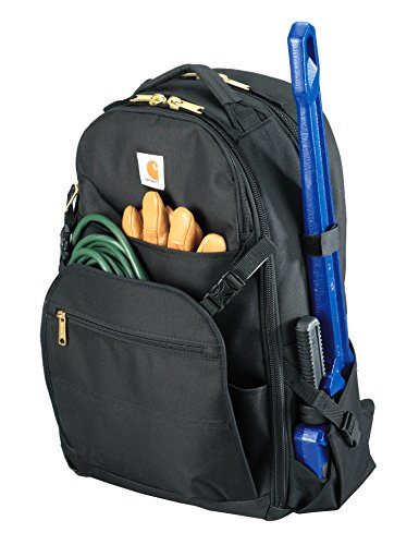Carhartt Legacy Expandable-Front Tool Backpack, Black