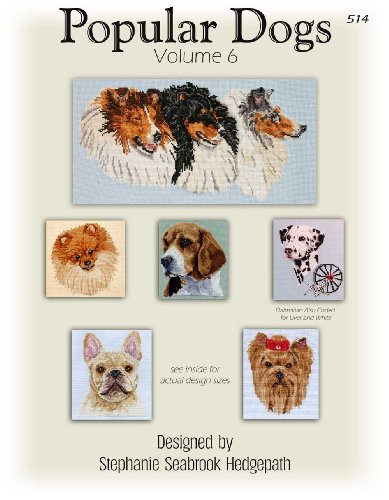 UPC 043254005148, Pegasus Original's Popular Dogs Volume 6 Counted Cross Stitch Charts
