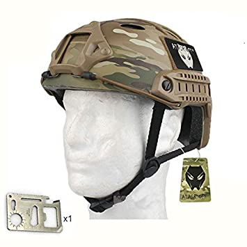 Worldshopping4U SWAT Army tipo de estilo militar combate FAST PJ MC Casco para Airsoft Caza Ciclismo