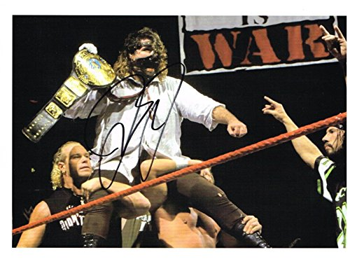 WWE LEGEND MICK FOLEY MANKIND AUTOGRAPHED 8X10 PHOTO AUTO SIGNED - Foley Outlet