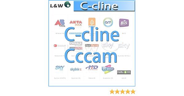 MU clina CCcam por 1 año de validez puede experimentar una prueba gratuita de un día con 3 RCA línea av línea envío libre por el poste de China: Amazon.es: Electrónica