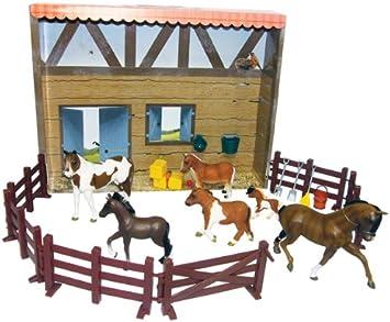 Saddle Pals - Set de Caballos y establo