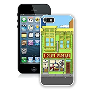Fashionable Bob's Burgers 4 iPhone 5 5s 5th Generation Case in White by icecream design