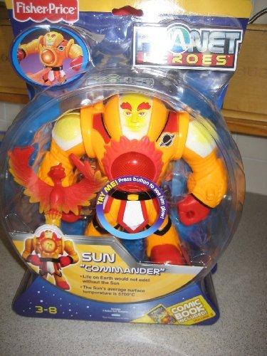 Fisher-Price Planet Heroes Sun - Commander