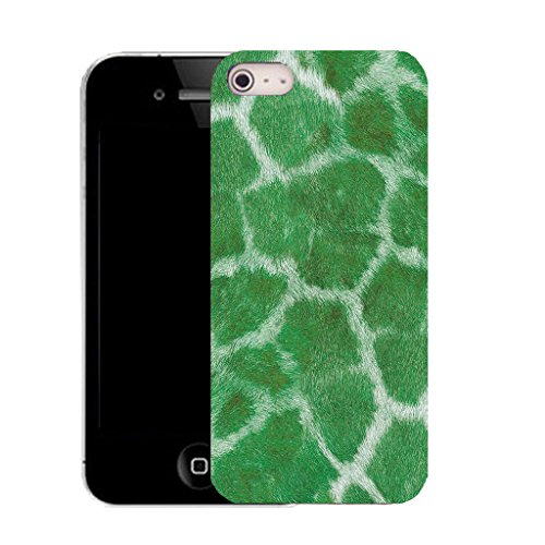 Mobile Case Mate iPhone 5c clip on Dur Coque couverture case cover avec Stylet - green cheetah print Motif