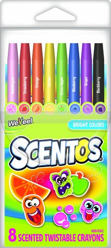 Scentos Scented Twistable Crayons 41102