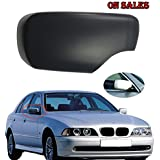 Free2choose Primed Right Side Door Rearview Mirror Cover Cap For BMW E39 E46