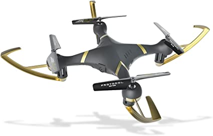 Amazon.com: Protocol VideoDrone AP; Drone with Camera; Bonus Battery  Included Doubles Flying time: Toys & Games