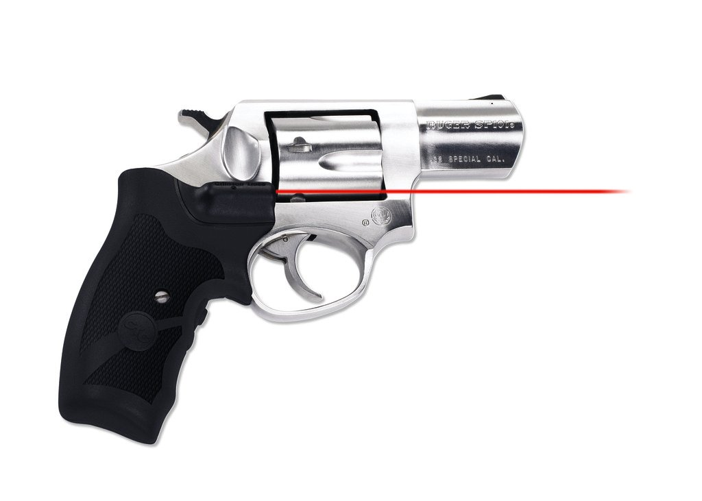 Crimson Trace LG-303 Lasergrips Red Laser Sight Grips for Ruger SP101 Revolvers by Crimson Trace