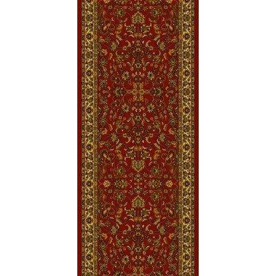 - Oriental Classics Kashan Red Rug Rug Size: 2' x 7'7
