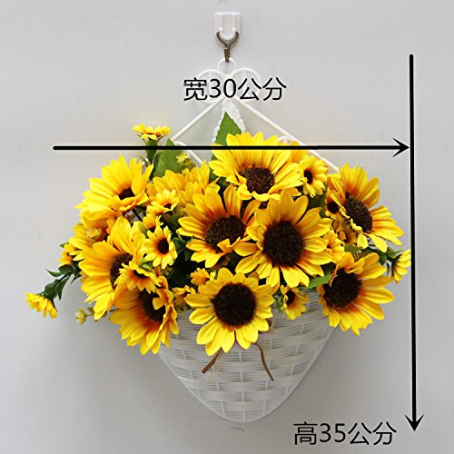 Artificial Flower handmade flower baskets European Style silk flower, small sunflower