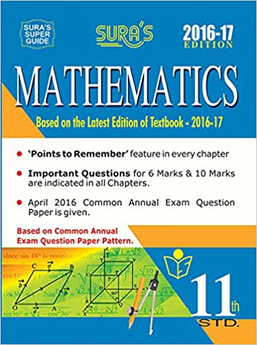 11th Standard Mathematics Guide English Medium Tamilnadu