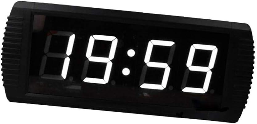 カウントダウン時計 分と秒のカウントダウンクロックの数は、リモート電源接続3インチでデジタルカウントダウンタイマーを反転します スポーツタイミングアクティビティ用 (色 : ブラック, サイズ : 39X16X4CM) ブラック 39X16X4CM