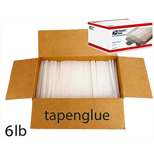 "New 100 Hot Melt Glue Sticks 7/16"" X 10"" 1/2"" x 10"" 6 lbs Wholesale Lot hot sale"