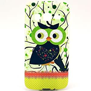 DUR The Black Owl Pattern with Stand for Samsung Galaxy Express 2 G3815