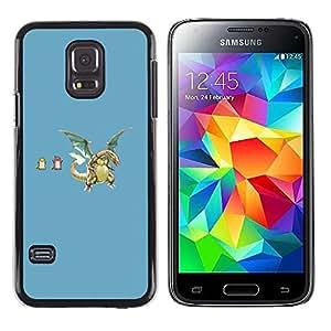 Stuss Case / Funda Carcasa protectora - P0Kemons divertidos - Samsung Galaxy S5 Mini, SM-G800