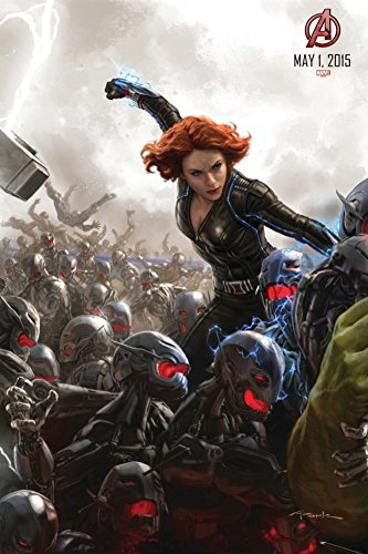 The Avengers: Age of Ultron - Black Widow Poster 24 x 36in