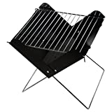 Outdoor4less Stainless Steel Mini Portable X Folding Foldable Charcoal BBQ Barbecue Grill for Outdoor Camping and Picnic Review