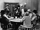 Photo W C Fields Smoking a Cigar Playing Poker