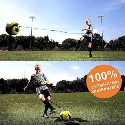 atom products Ayuda de Entrenamiento de f/útbol de Kick Master Ideal para ni/ños Ayuda de Manos Libres para Entrenadores solitarios Se Adapta a balones de f/útbol de tama/ño 3 4 y 5