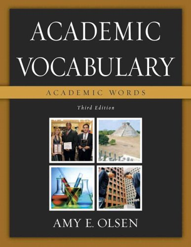 Academic Vocabulary: Academic Words (3rd Edition) -