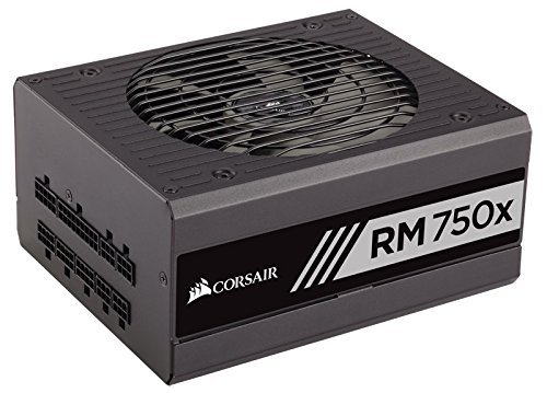 CORSAIR RMX Series, RM750x, 750 Watt, 80+ Gold Certified, Fully Modular Power Supply