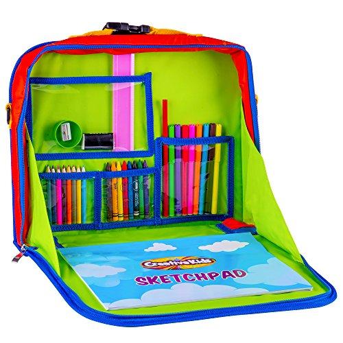 Creative Kids Travel Fun Desk – Portable Car Seat Tray Organizer w ...