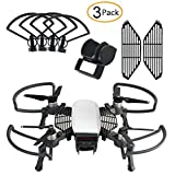 #5: Nicertain Dji Spark Accessories Kits, Including Propeller guards + Foldable Landing Gear, Lens Hood Sun Shade, Finger Guard Board for Dji Spark Drone (3 Pack)