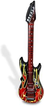 Krüger & Gregoriades 583009 - Guitarra Hinchable (100 cm), diseño ...