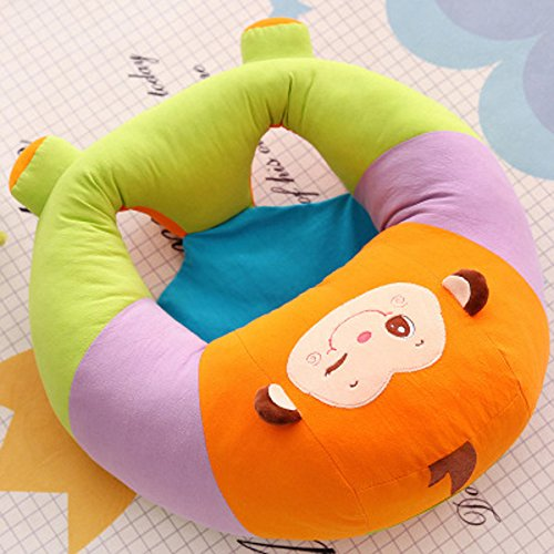 Lecent@ Lovely Animal Infant Safe Sitting Chair Protectors for 3-12 Months (Small(6-9kg), Money)