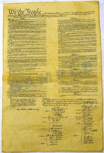 Constitution of the U.S. Historical Document