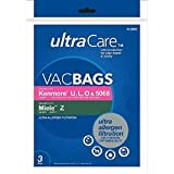 Ultracare Kenmore Style U,L,O & 5068 Ultra Allergen Bag (3)