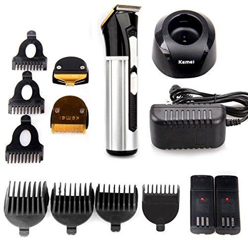 Price comparison product image Hair Clippers,Bienna Haircut Kit Professional Electric Rechargeable [Cordless & Corded] [Waterproof Head] Hair Cutting Cutter Trimmer Machine Grooming Set With 4 Hair & 3 Sideburn Guide Combs for Men