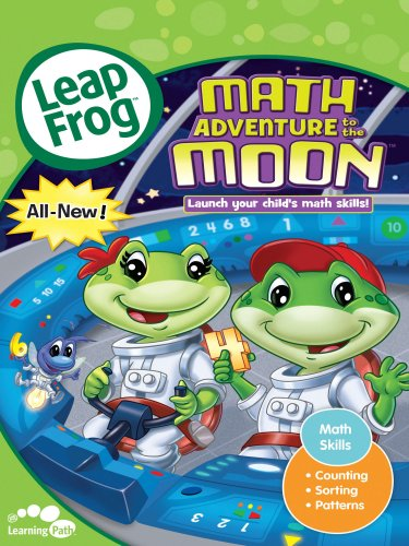 Leapfrog: Math Adventure To The Moon (Leapfrog Laptop Purple)