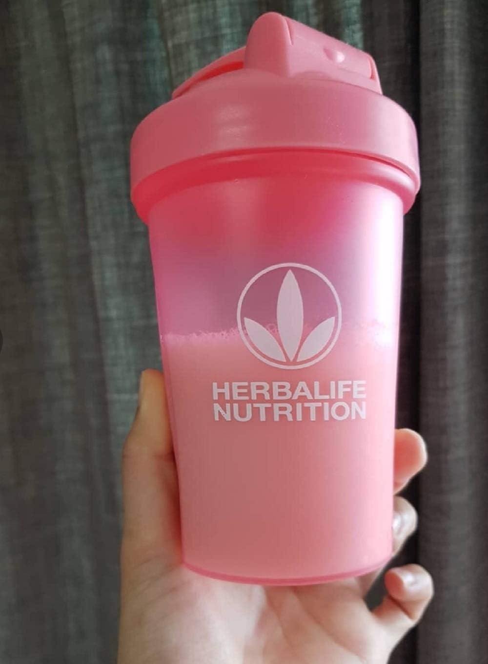 Herbalife - Botella para coctelera (400 ml), color rosa y herbalife, 1 paquete: Amazon.es: Bricolaje y herramientas