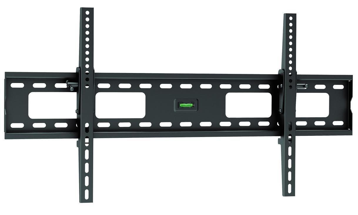 Ultra Slim Tilt TV Wall Mount Bracket for LG Electronics 86UK6570PUB 86-Inch 4K Ultra HD Smart LED TV (2018 Model) - Low Profile 1.7'' fom Wall, 12° Tilt Angle, Easy Install for Reduced Glare!