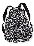 Victoria's Secret PINK Bling Black Leopard/Cheetah Large Backpack Travel Bag *RARE*