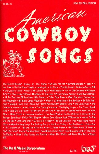 - American Cowboy Songs (enlarged Edition) 72 Classic Songs