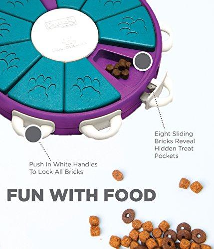 Outward Hound Nina Ottosson Dog Twister Dog Puzzle Toy Dog Game 2