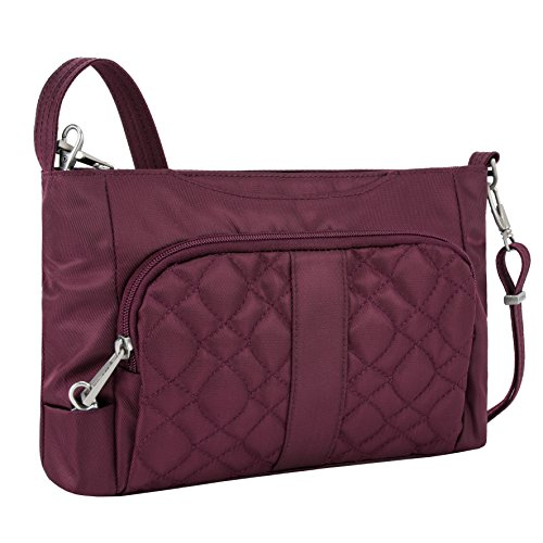 travelon-womens-anti-theft-signature-e-w-slim-shoulder-bag-wineberry-one-size