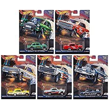 Car Culture Hot Wheels 2018 Dragstrip Demons Set of 5