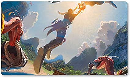 Blatant Thievery – Juego de mesa MTG alfombra de juego tamaño 60 x 35 cm alfombrilla de ratón para Yugioh Pokemon Magic The Gathering: Amazon.es: Oficina y papelería
