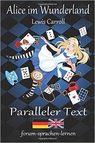 Alice Wunderland Wonderland Zweisprachig