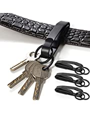 Sleutelhanger riemgesp, roestvrijstalen sleutelhanger riemclip, voor familie buiten kamperen wandelen